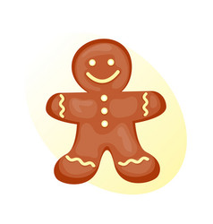cookie gingerbread homemade breakfast bake cakes vector image vector image