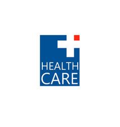 logo cross logo for the clinic pharmaceutical vector image