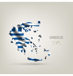 Flag of Greece as a country vector image vector image