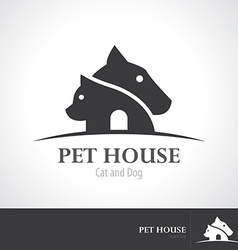 Pet house icon symbol vector image vector image