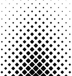 Black and white rounded square pattern background vector image