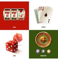 Casino Design Concept vector image