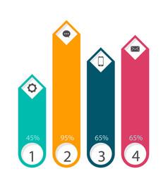 Element set of polls image vector