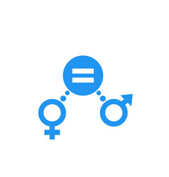 gender equity icon sign vector image