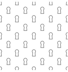 Keyhole pattern seamless vector