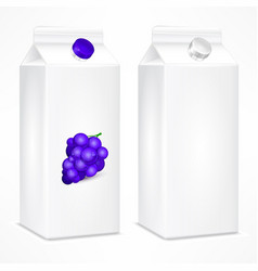 packing template for grapes vector image