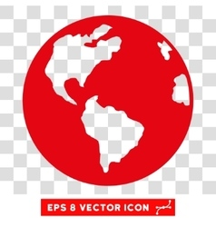 Planet Earth Eps Icon vector