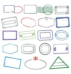 Rubber Stamps vector image vector image