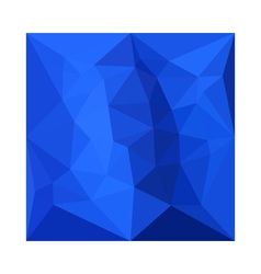 Bright Navy Blue Abstract Low Polygon Background vector