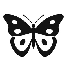 Butterfly pierid icon simple style vector