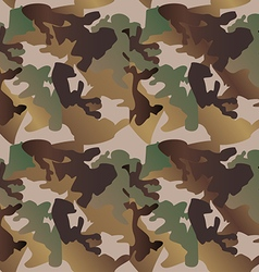 Camouflage pattern background clothing print vector image