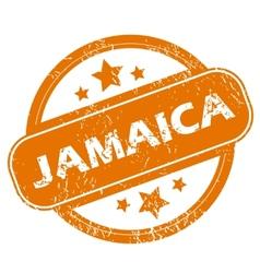 Jamaica grunge icon vector