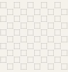 Minimalistic square pattern vector