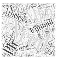MLM and Private Label Marketing Word Cloud Concept vector image