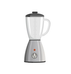 Modern powerful blender with speed regulation vector