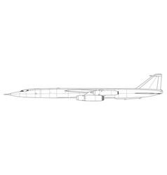 Myasishev m-50 vector