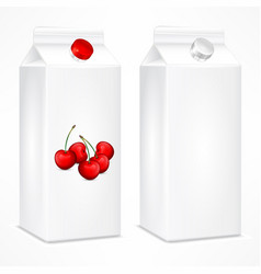 packing template for cherry vector image
