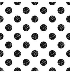 basketball ball pattern vector image