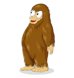 Bigfoot Cartoon vector image vector image