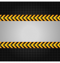 construction warning background vector image