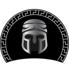 Medieval helmet vector