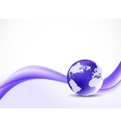 Violet purpule background vector image vector image