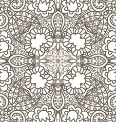 flower decorative pattern vector image vector image