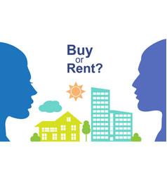 Buy or rent vector