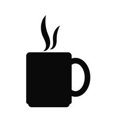 coffee mug icon design template vector image