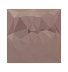 Copper Rose Abstract Low Polygon Background vector