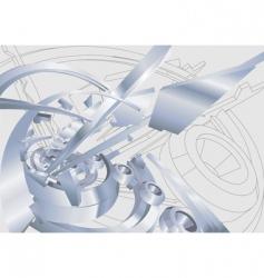 Industrial illustration vector