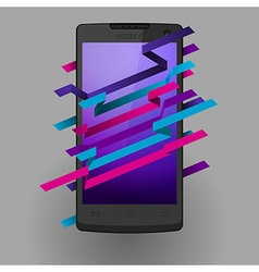 Mobile vector image