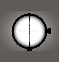 optical sight concept for vector image