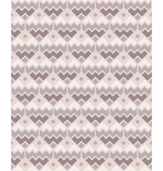 Seamless geometric pattern in pastel colors vector image