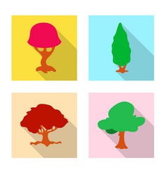 tree and nature logo vector image