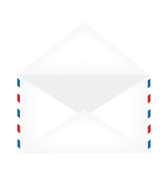 Opened envelope vector image vector image