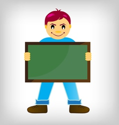 chalk boards vector image vector image