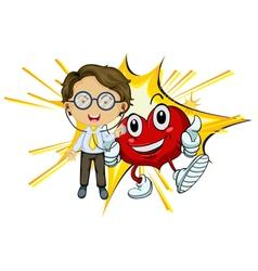 Heart health vector image
