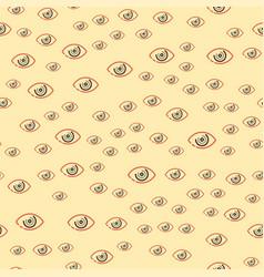Eye blinker seamless pattern vision daylight vector