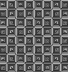 square seamless geometrical pattern vector image