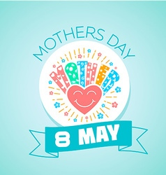 8 may MOTHERS DAY vector