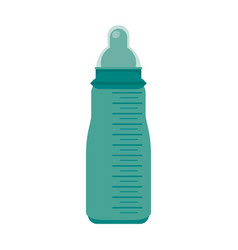baby bottle symbol vector image