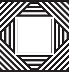 Black and white stripes pattern background with vector