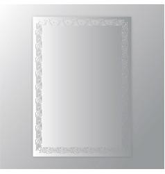 creative concept metal silver scheme texture page vector image