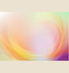curved abstract colors background vector image