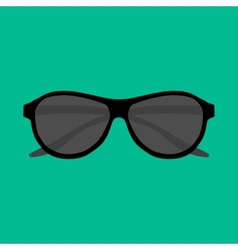 Hipster sunglasses set vector image