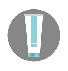 Medicine cream bottle isolated icon vector