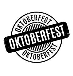 Oktoberfest rubber stamp vector