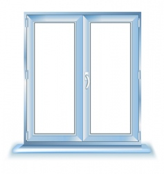 plastic window vector image vector image
