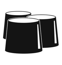 Propolis icon simple style vector